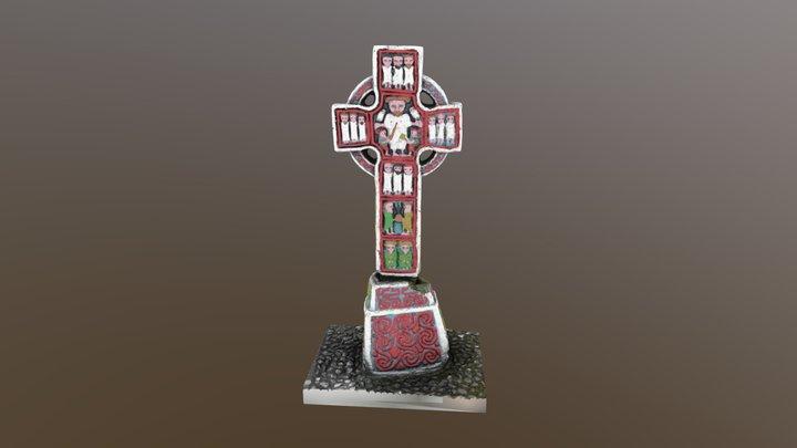 Cross2 50k painted 3D Model