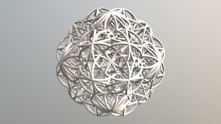 Mind Radiation 4D Evo Plus 3D Model