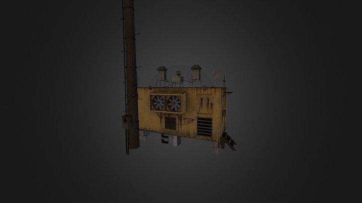 Power Booth LP 3D Model