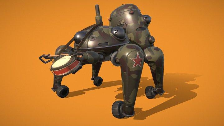 Tachicomrade 3D Model