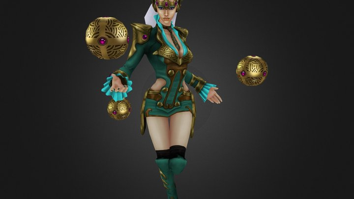 Syndra - Foreign Affairs 3D Model