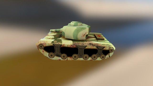 Tyger tank 3D Model