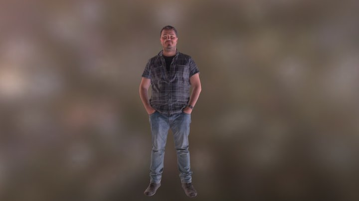 Artem in Shapify Booth 3D Model
