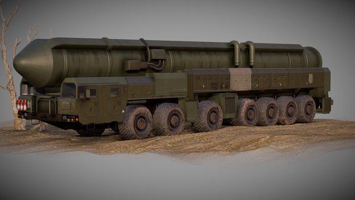 NuclearTruckTopol 3D Model