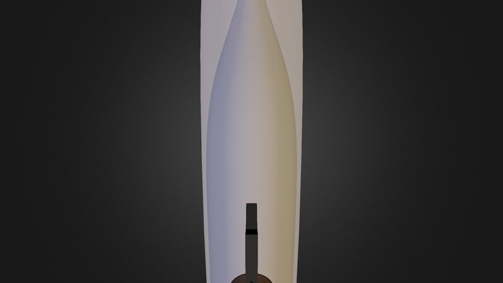 Spacecraft-Cube-Fairing 3D Model
