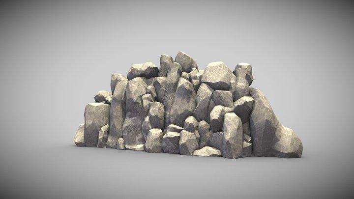 Stone Assets free(1100 followers) 3D Model