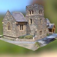 St Peter anglican church 3D Model