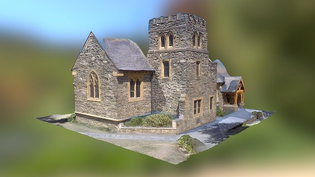 St Peter anglican church 3D Model