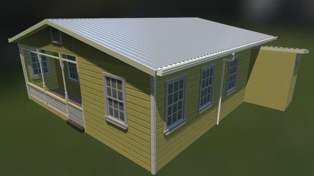 Casa Pacayas 3D Model