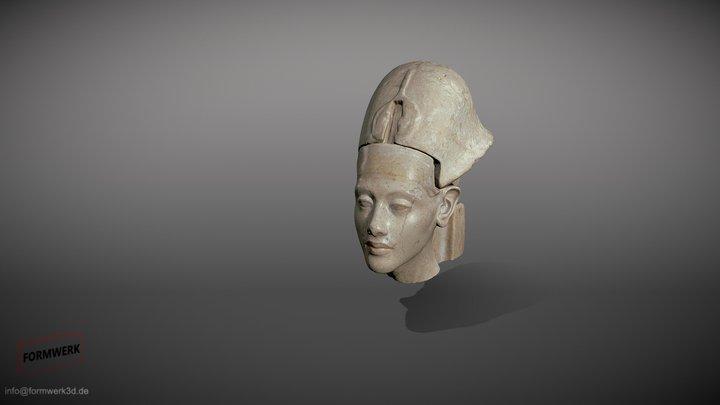 Echnaton/Akhenaten - animatierter 3D Scan 3D Model