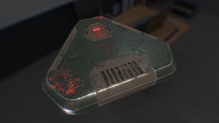 Si-fi box 3D Model