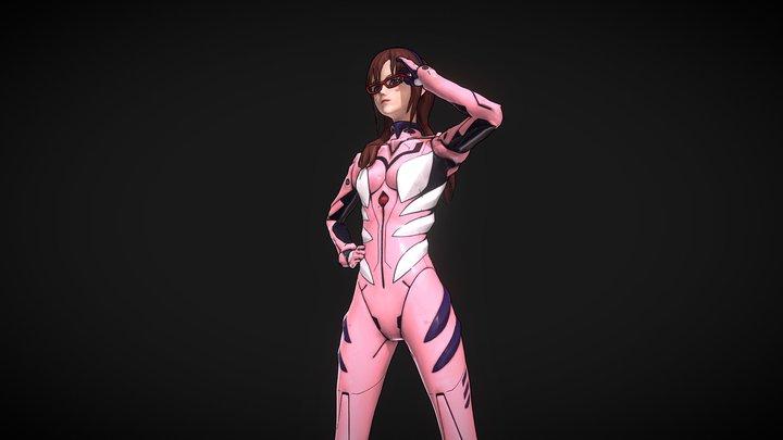 Evangelion - Mari 3D Model