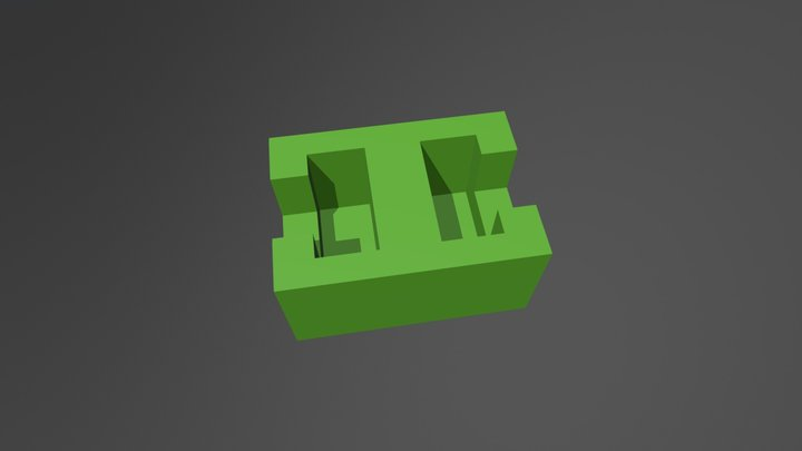 connector for modules (2) 3D Model