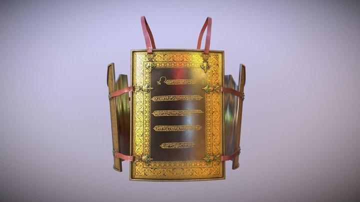 Charaina of Guru Gobind Singh Ji 3D Model