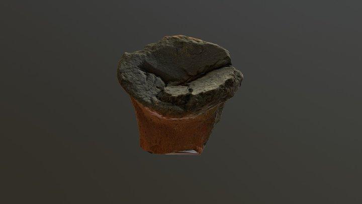 A Medieval Jug Handle AD 1350 3D Model