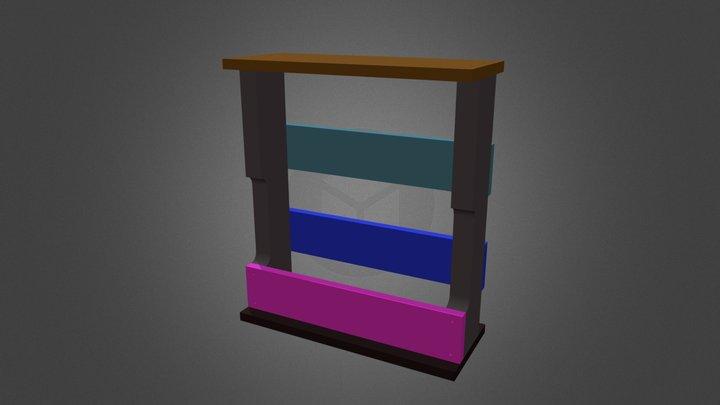 BOUT DE CANAPE 3D Model