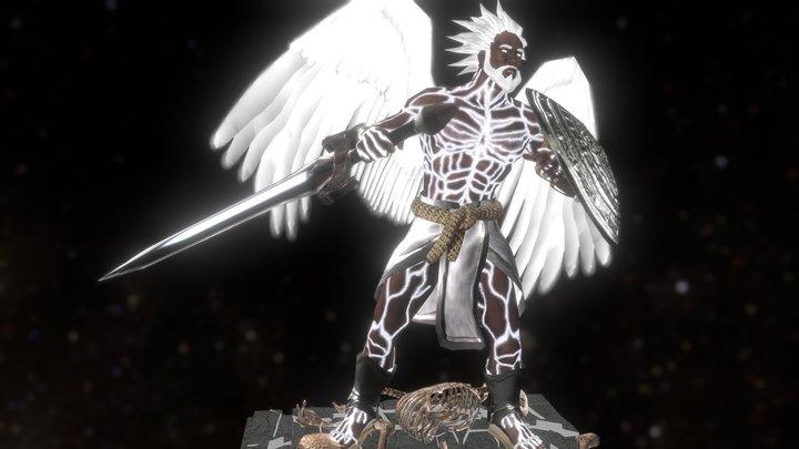 God Of Enlightenment 3D Model
