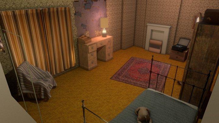 Room to Breathe Bedroom 3D Model