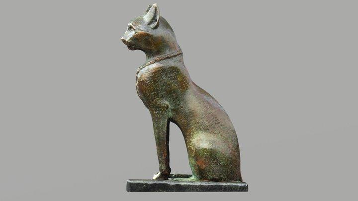Bastet, Cat goddess, Egypt 3D Model