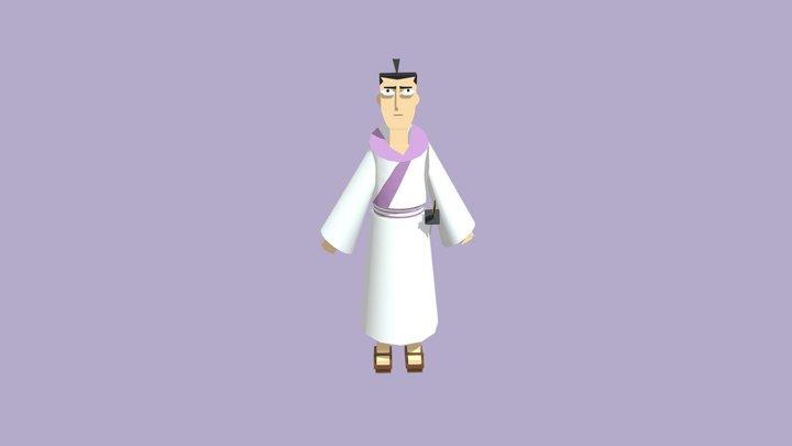 Samurai Jack 3D Model