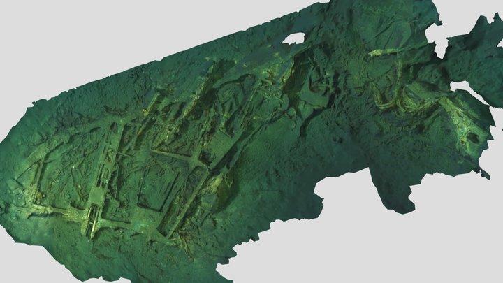 F4D Skyray (Santa Monica Bay) 3D Model