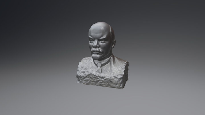 Lenin Photoscan 3D Model
