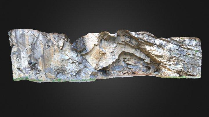 Geology - Anticline in the Oriskany 3D Model