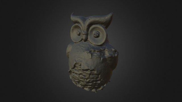 owl statuette 3D Model