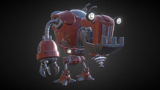 Warbot 3D Model