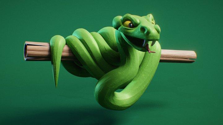 Day 22 - Beast : Jungle 3D Model