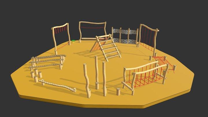 adventure trail 3D Model