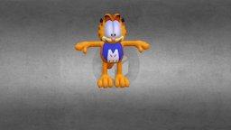Garfield Man 3D Model