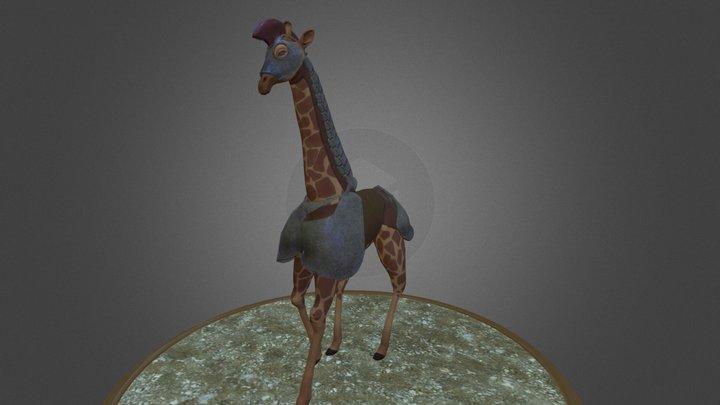 War Giraffe 3D Model