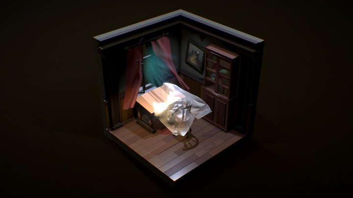 XYZ_Daily_marathon(Detective)_2/5 3D Model