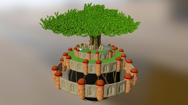 Laputa Final 3D Model