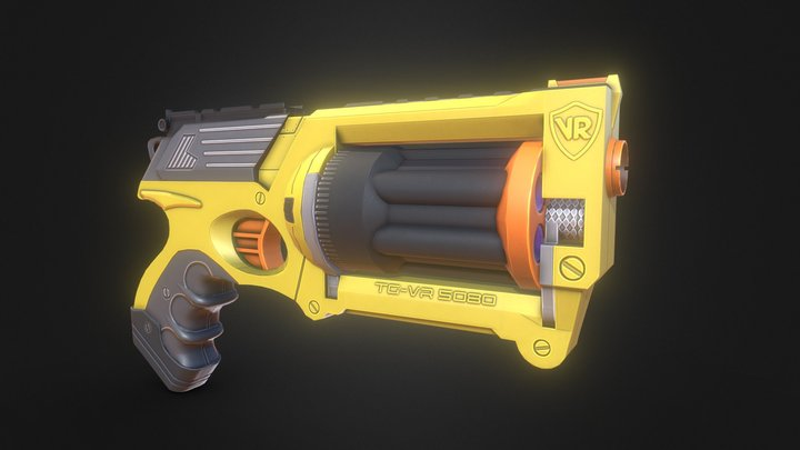 Nerf Gun - Free Download! 3D Model