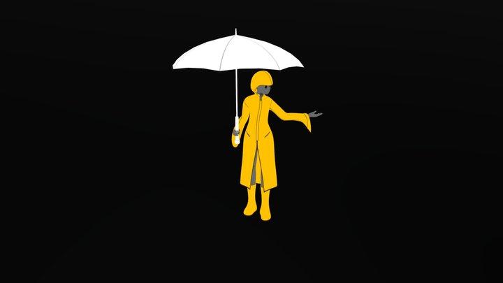 Regenschirm (Umbrella) 3D Model