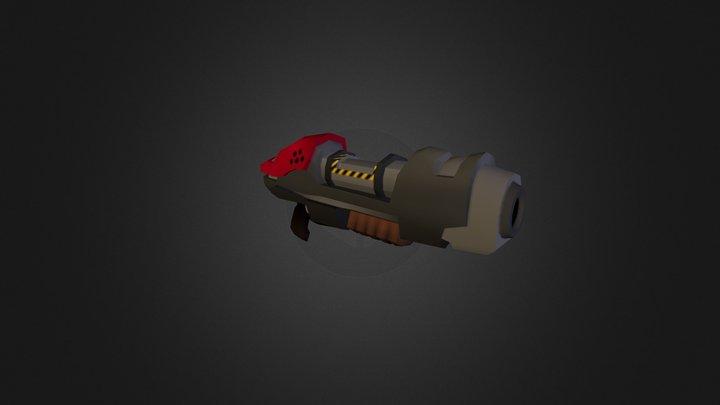 WeaponModel2 - Spartans 3D Model
