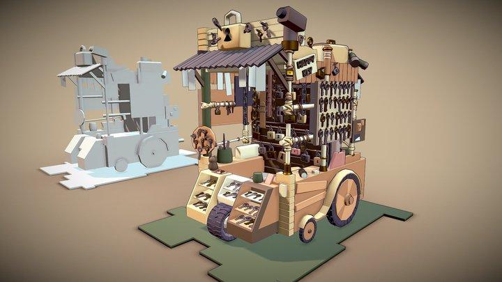 Keymaster's carriage 3D Model
