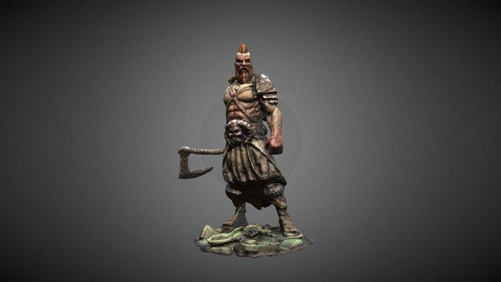 Hagbar the viking 3D Model