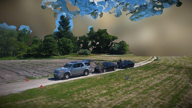 Woodmont Cars 3D Hi Res Textured Mesh 3D Model