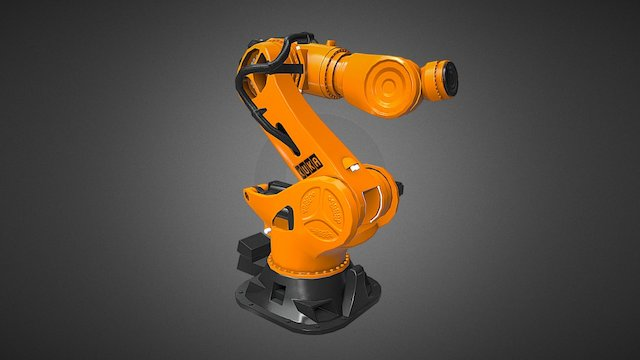 Robot Kuka K1000 3D Model