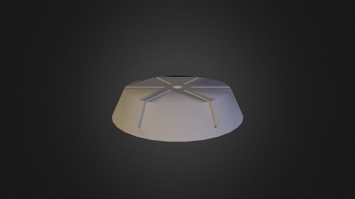 Ghostly Record Stand 3D Model