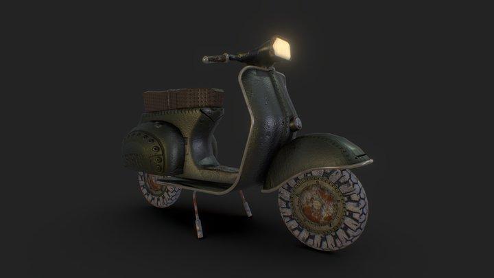 Vespa moto 3D Model