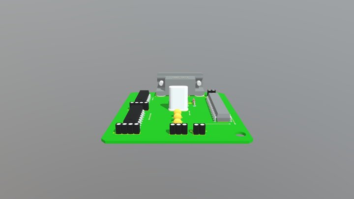 CNC- Pen- Printer 3D Model