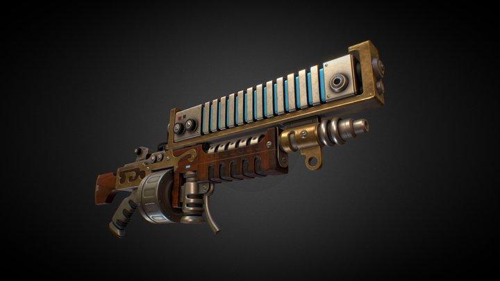 Ark Rifle Mechanicus 3D Model