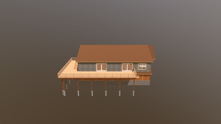 CATHEY-Roof On 2-19-2020 3D Model