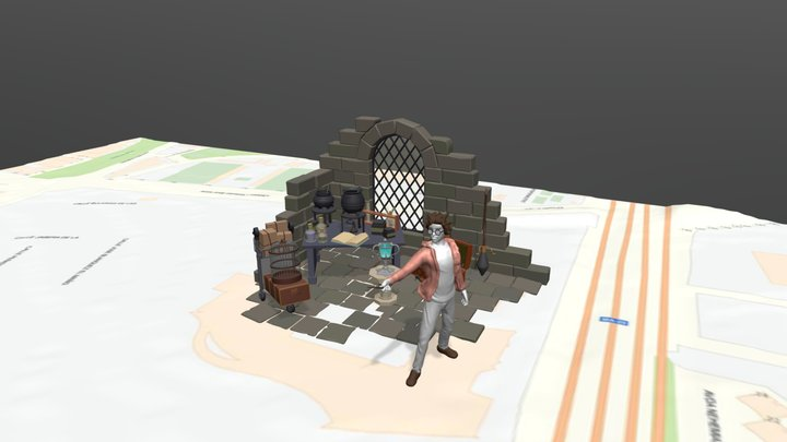 Freakcon2020 3D Model