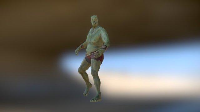 Giant Monster Animset 3D Model