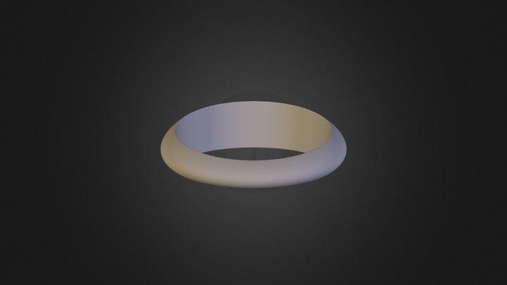 נצן זיגלמן טבעת פשוטה 3D Model